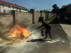Basic Fire Fighting Training